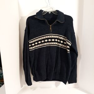 Men's wool sweater L/S very warm